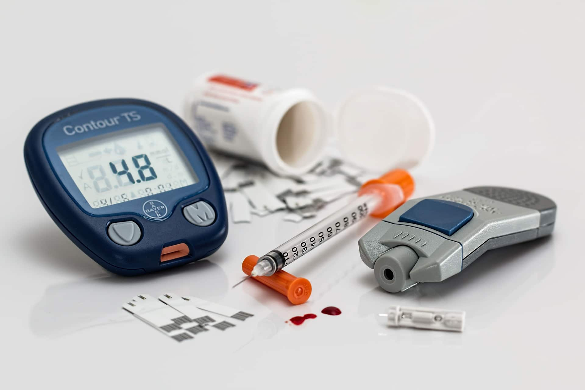 blood sugar checker